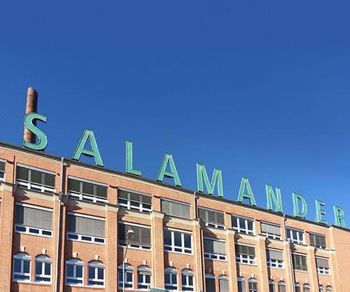 Salamander-Areal Kornwestheim